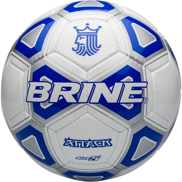 Brine Attack Royal Soccer Ball - model SBATTK4-RL