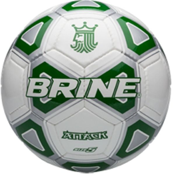 Brine Attack Green Soccer Ball - model SBATTK4-EME