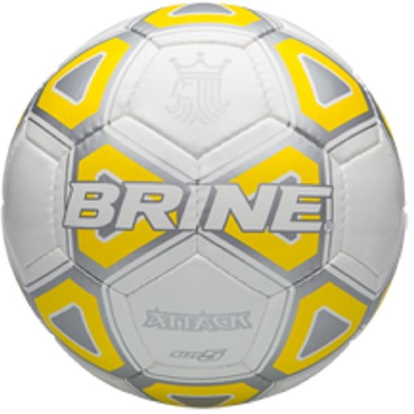 Brine Attack Yellow Soccer Ball - model SBATTK4-YL
