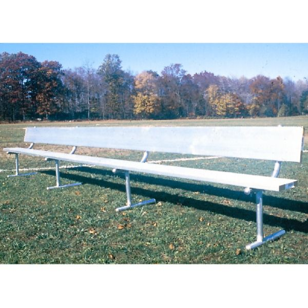 Goal Sporting Goods Portable 21&#039; Bench with Back - model B21POB