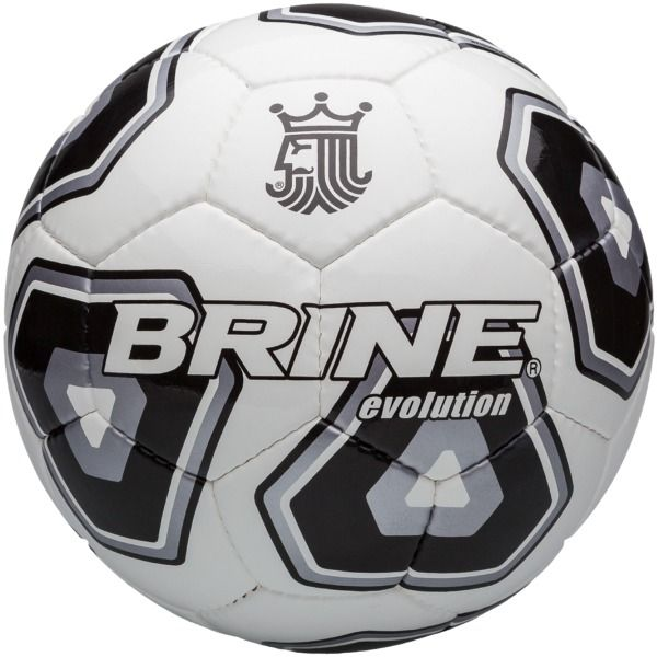 Brine Evolution Black Soccer Ball - model SBEVO4-BK