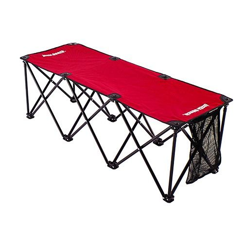 Insta-Bench Red 3-Seater Bench - model CMS0048R