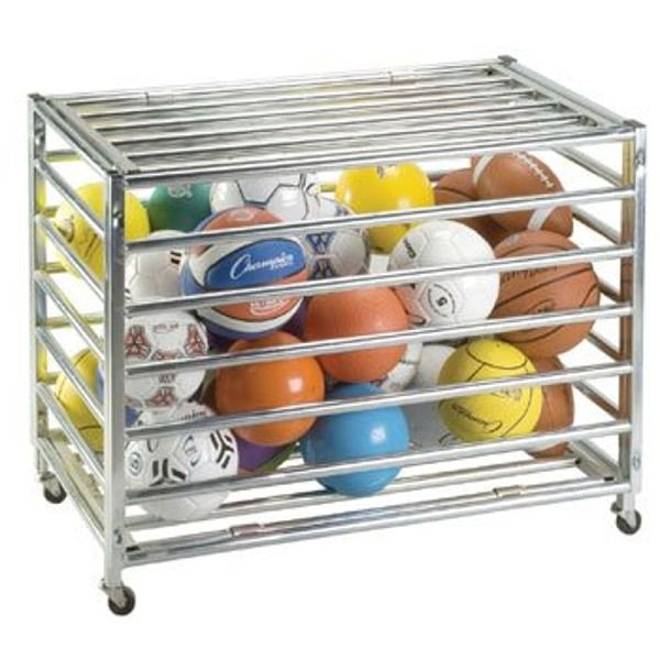 Lockable Ball Storage Locker - model LBCXX