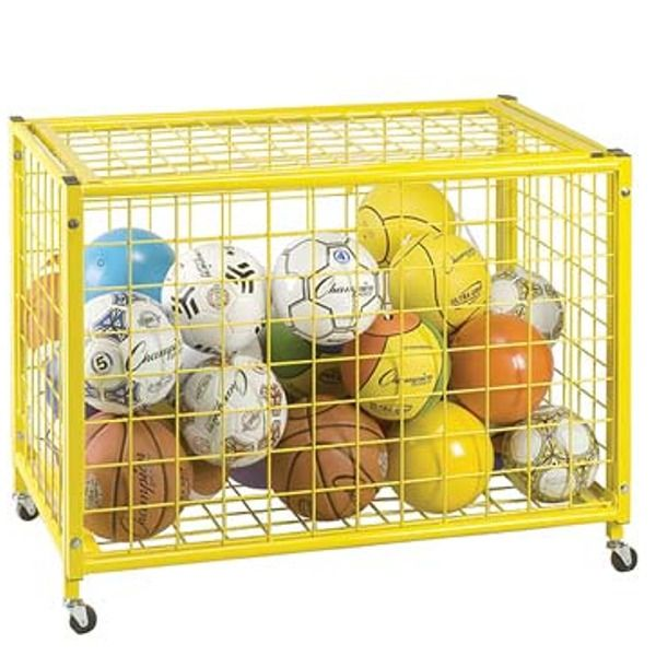 Locking Ball Storage Locker - model LRCL