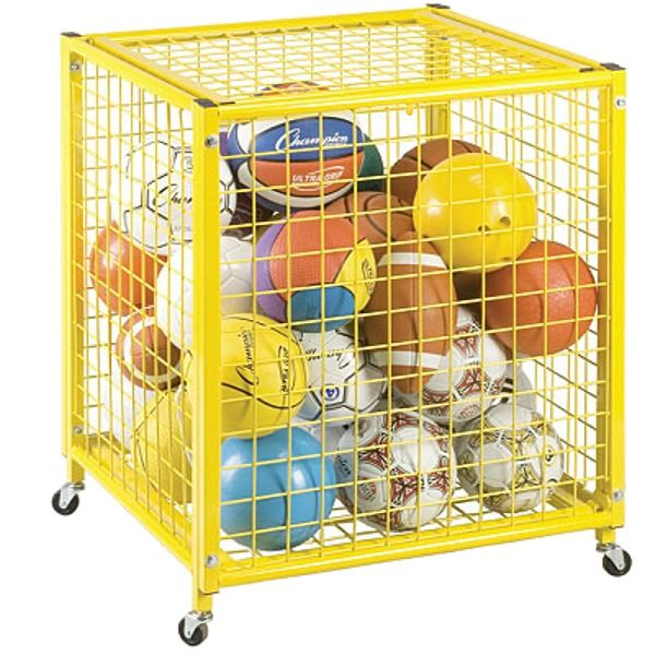 Locking Ball Storage Locker - model LRCS