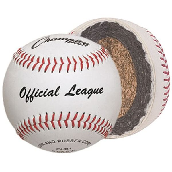 Champion Official League Baseball (1 Dozen) - model OLB1