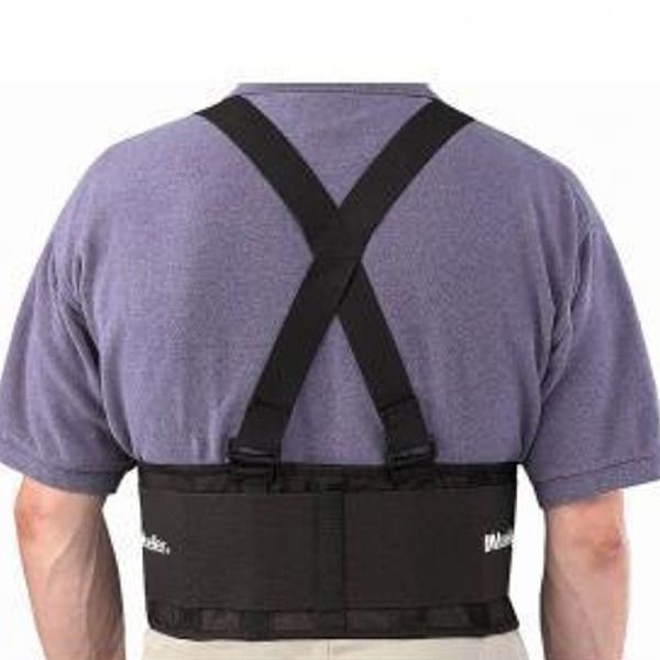 Mueller Back Support with Suspenders - model M252