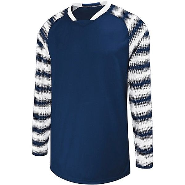 High Five Prism Navy/White Goalkeeper Jersey - model 24360-N