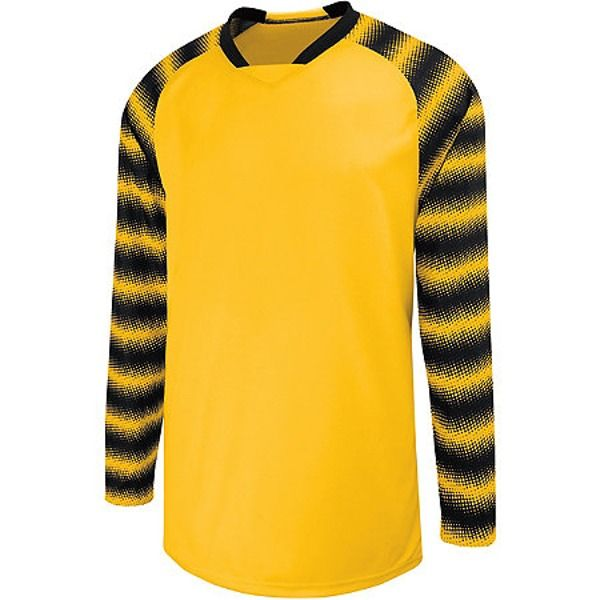 High Five Prism Athletic Gold Goalkeeper Jersey - model 24360-AG