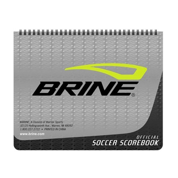 Brine Soccer Scorebook - model SB1RP