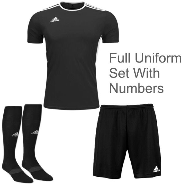 adidas Entrada 18 Soccer Uniform Package - model ADENP