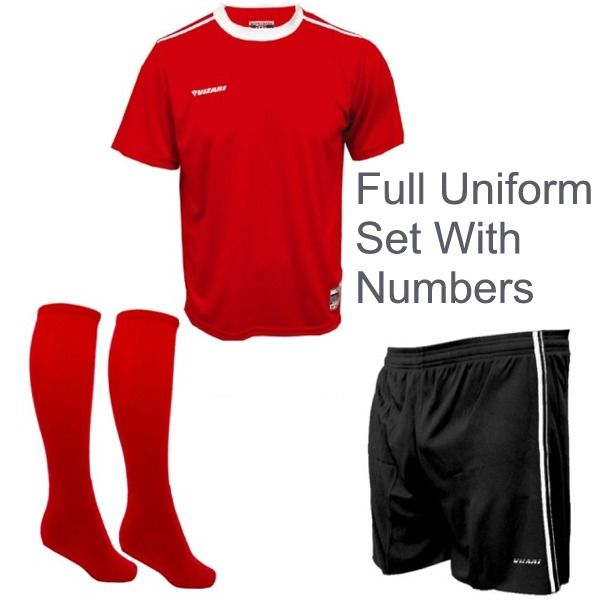 Vizari Velez-Campo Soccer Uniform Package - model V1ZUVC