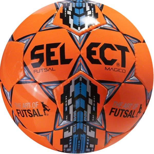 Select Futsal Magico Orange Soccer Ball - model 14-600-505