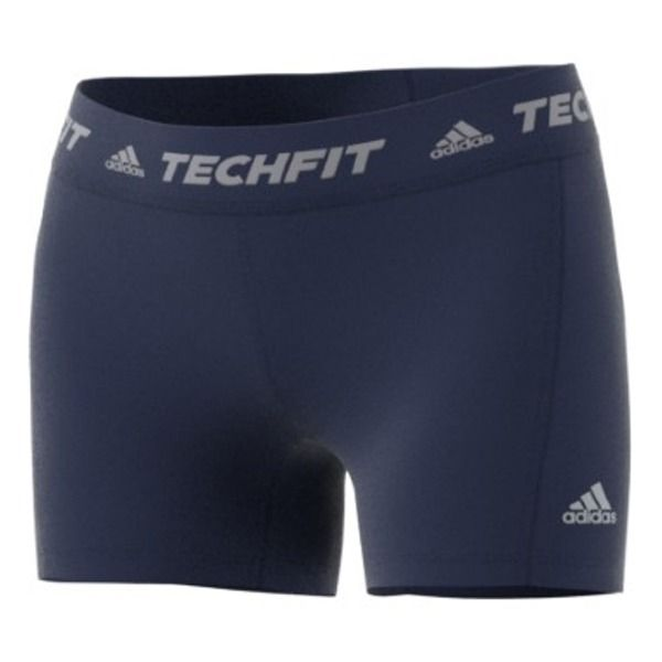 "adidas Techfit Base 4"" Dark Blue Soccer Women's Short Tights - model B45112"