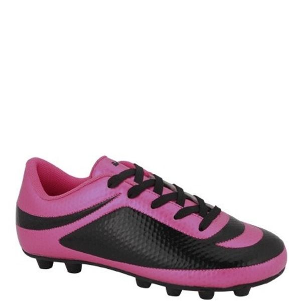 Vizari Infinity Pink/Black FG Kids Soccer Cleats - model 93344