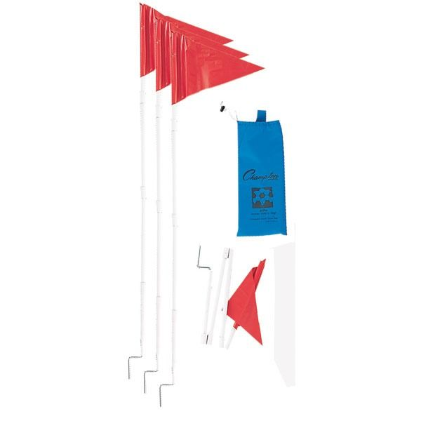 Collapsible Soccer Corner Flags Set - model SCF50
