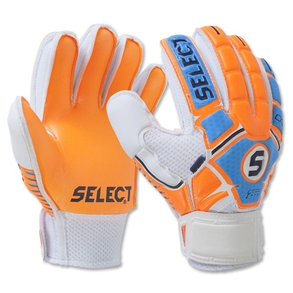 Select 03 Youth Guard Fingersaver Soccer Goalkeeper Gloves - model 60-103-233
