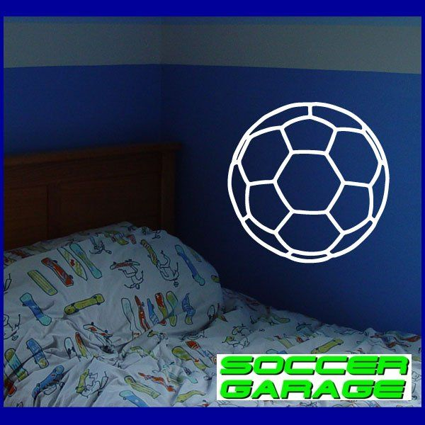 Soccer Graphic Wall Decal - model SoccerAL001