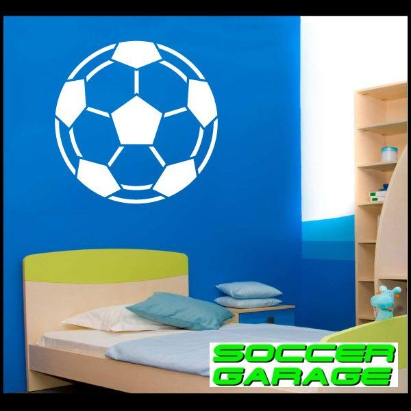 Soccer Graphic Wall Decal - model SoccerAL002