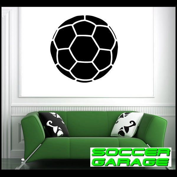 Soccer Graphic Wall Decal - model SoccerAL004