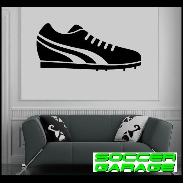 Soccer Graphic Wall Decal - model SoccerAL005