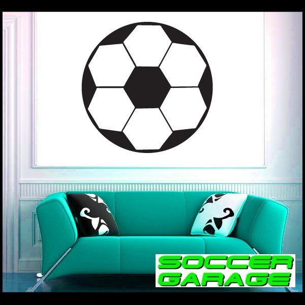 Soccer Graphic Wall Decal - model SoccerAL006