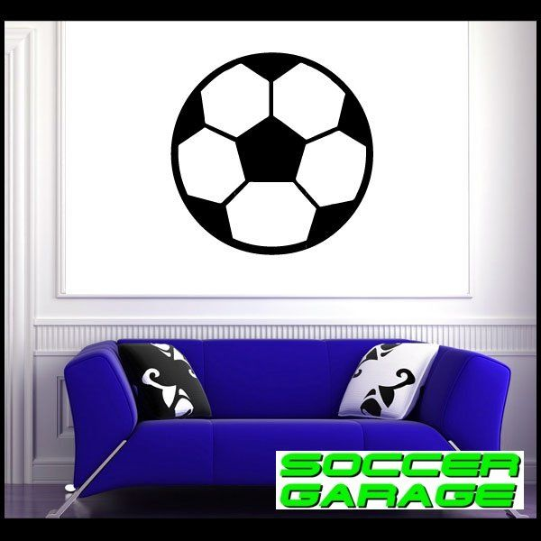 Soccer Graphic Wall Decal - model SoccerAL008
