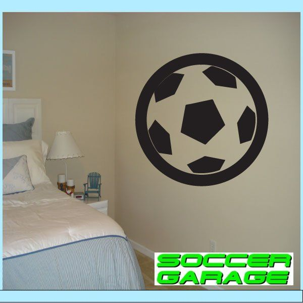 Soccer Graphic Wall Decal - model SoccerAL010