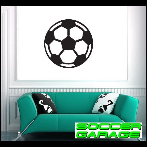 Soccer Graphic Wall Decal - model SoccerAL011
