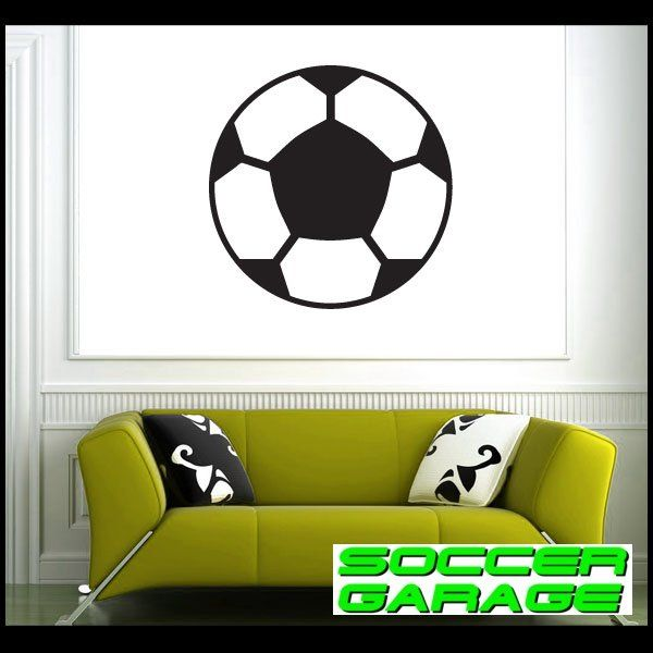Soccer Graphic Wall Decal - model SoccerAL012