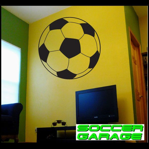 Soccer Graphic Wall Decal - model SoccerAL013