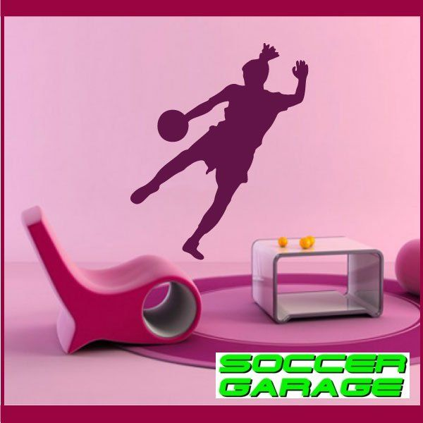 Soccer Graphic Wall Decal - model SoccerST001