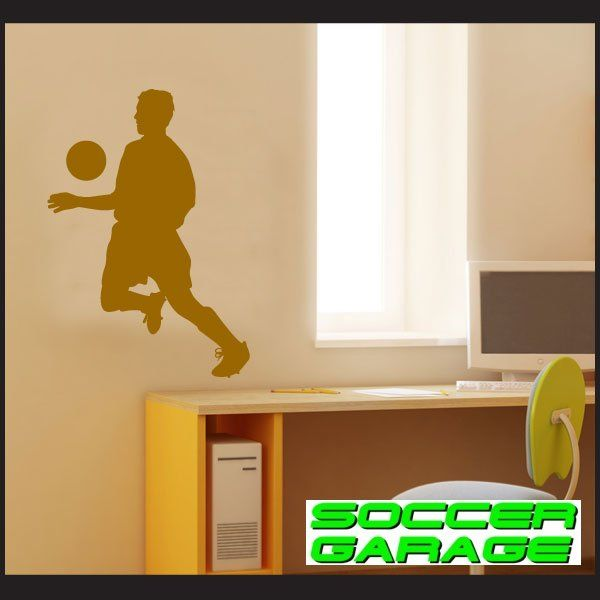 Soccer Graphic Wall Decal - model SoccerST002