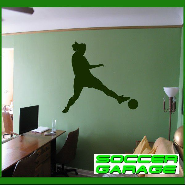 Soccer Graphic Wall Decal - model SoccerST004