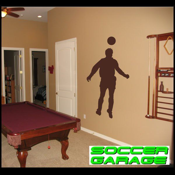 Soccer Graphic Wall Decal - model SoccerST007