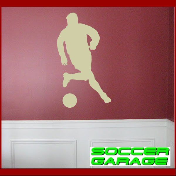 Soccer Graphic Wall Decal - model SoccerST008