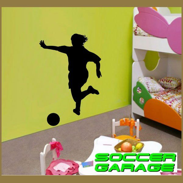 Soccer Graphic Wall Decal - model SoccerST010