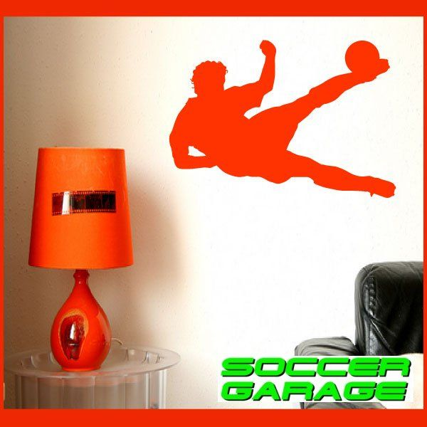 Soccer Graphic Wall Decal - model SoccerST012