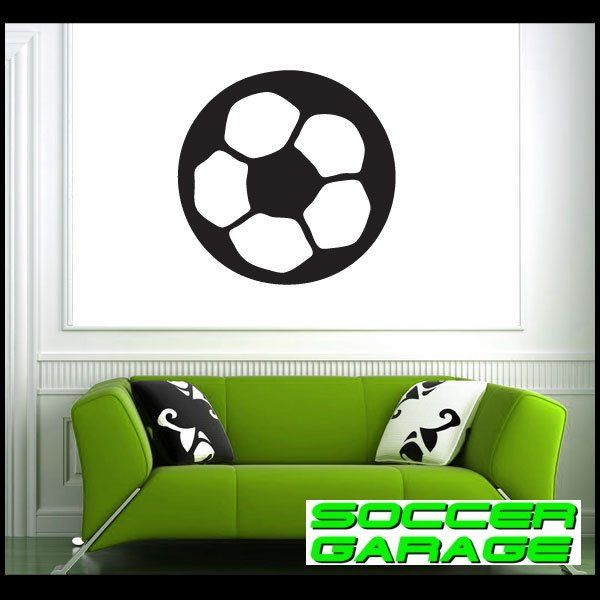 Soccer Graphic Wall Decal - model SoccerST016