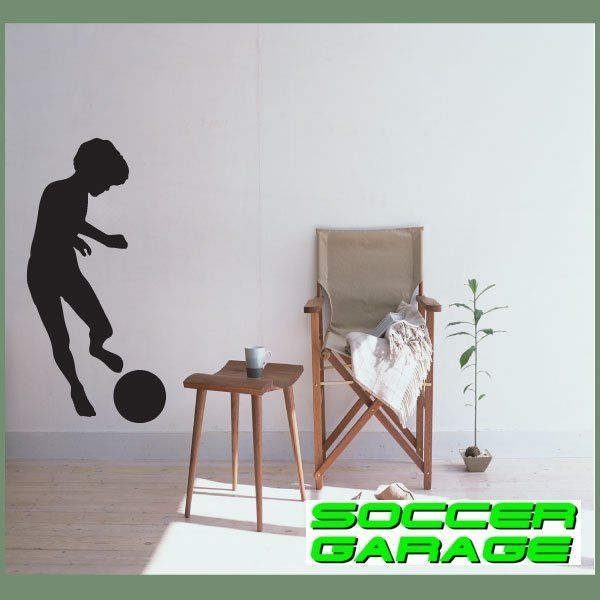 Soccer Graphic Wall Decal - model SoccerST026