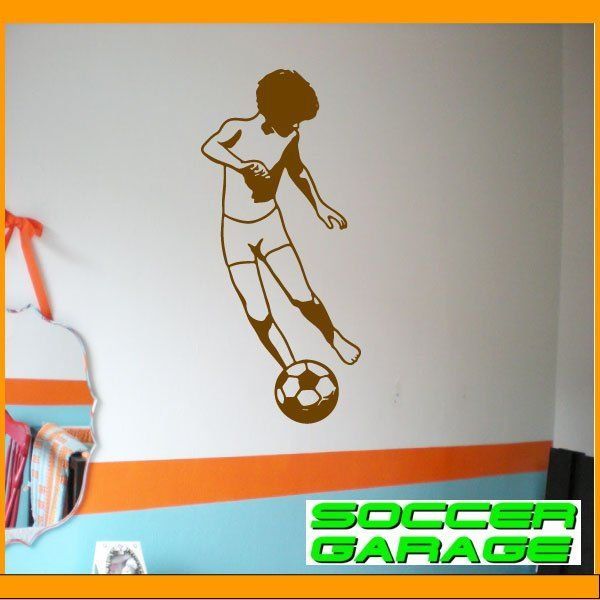 Soccer Graphic Wall Decal - model SoccerST031
