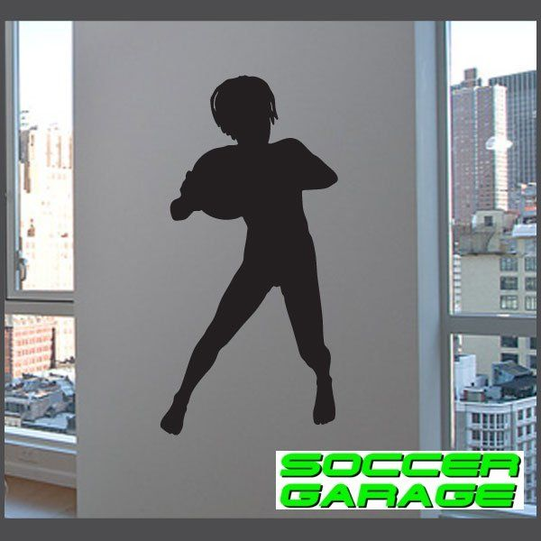 Soccer Graphic Wall Decal - model SoccerST036