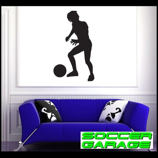 Soccer Graphic Wall Decal - model SoccerST044