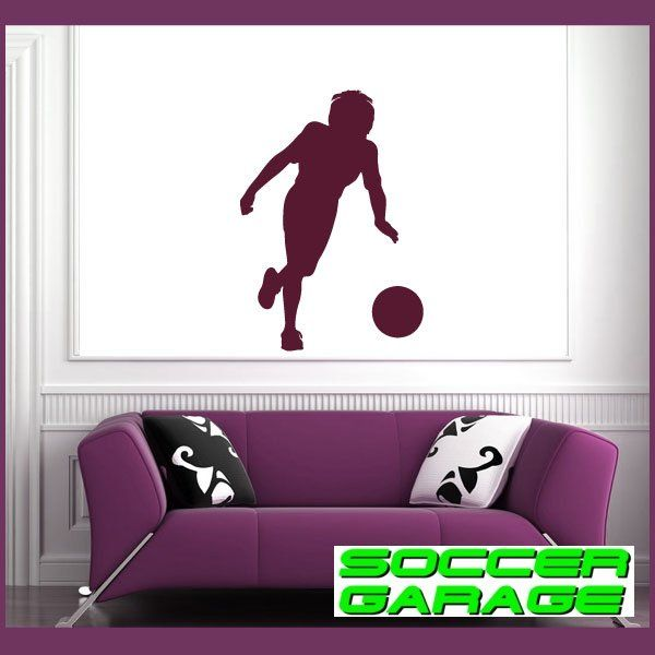 Soccer Graphic Wall Decal - model SoccerST046