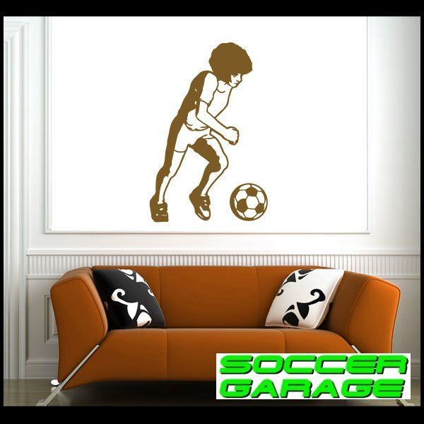 Soccer Graphic Wall Decal - model SoccerST047