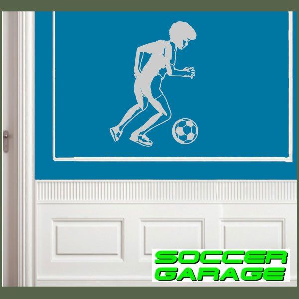 Soccer Graphic Wall Decal - model SoccerST051