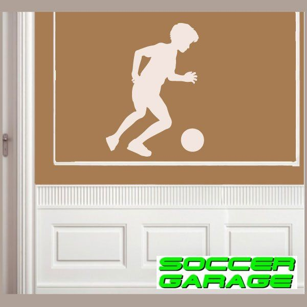 Soccer Graphic Wall Decal - model SoccerST052