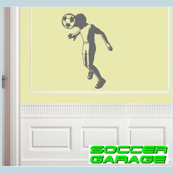 Soccer Graphic Wall Decal - model SoccerST053