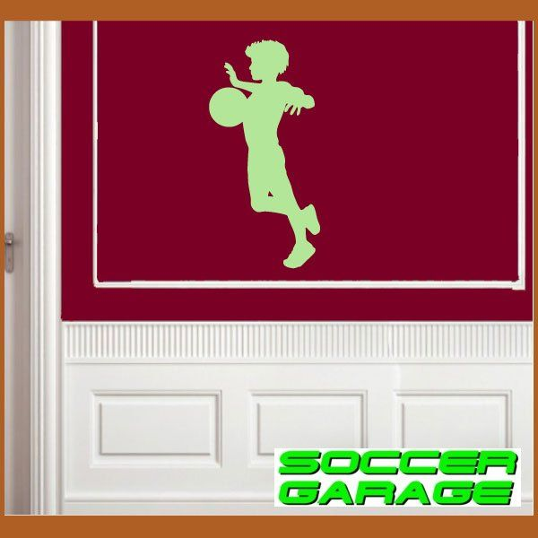 Soccer Graphic Wall Decal - model SoccerST056