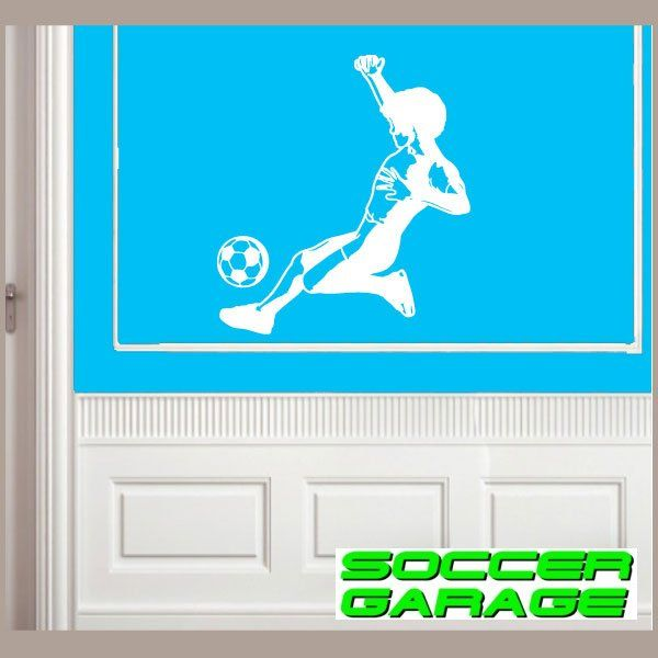 Soccer Graphic Wall Decal - model SoccerST057